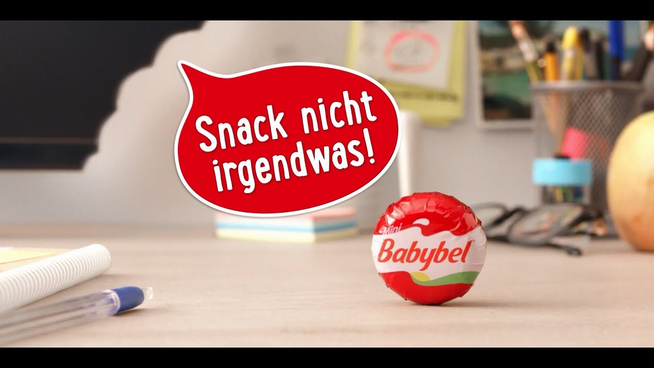 Babybel Werbespot Snack Nicht Irgendwas Snack Babybel
