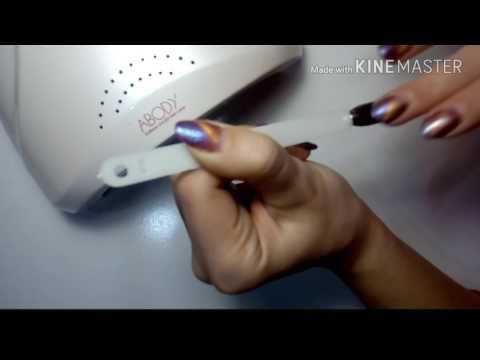 Как закреплять пигменты-втирки на ногтях