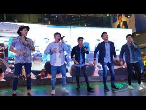 "BoybandPH sings ""Shape of You"" at Vivo V5S event"