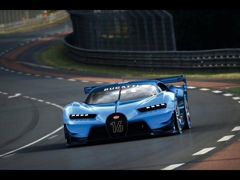 New Bugatti Vision Gran Turismo Dream Cars