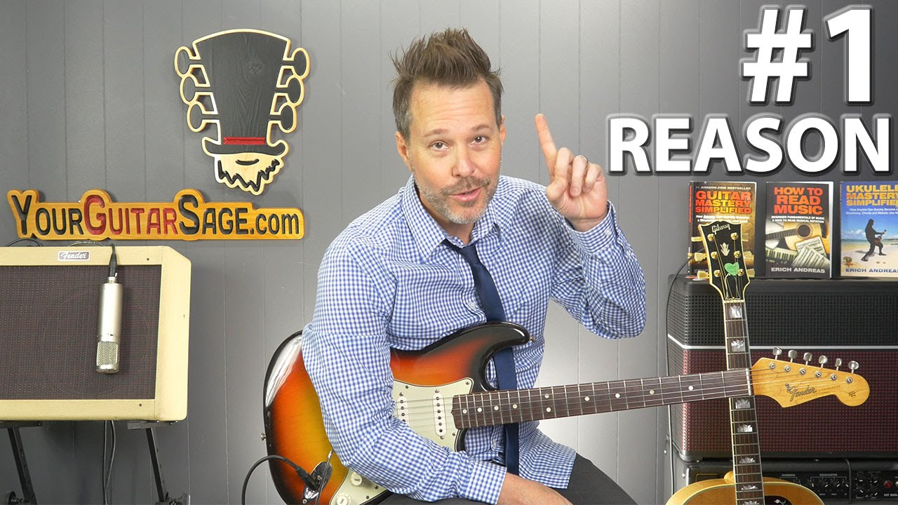 1 Reason Why Your Guitar Keeps Going Out Of Tune Youtube