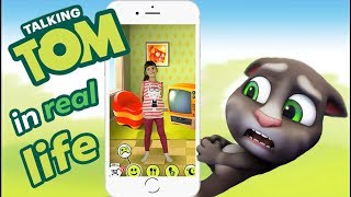 My Talking Tom in Real Life Kids Skit