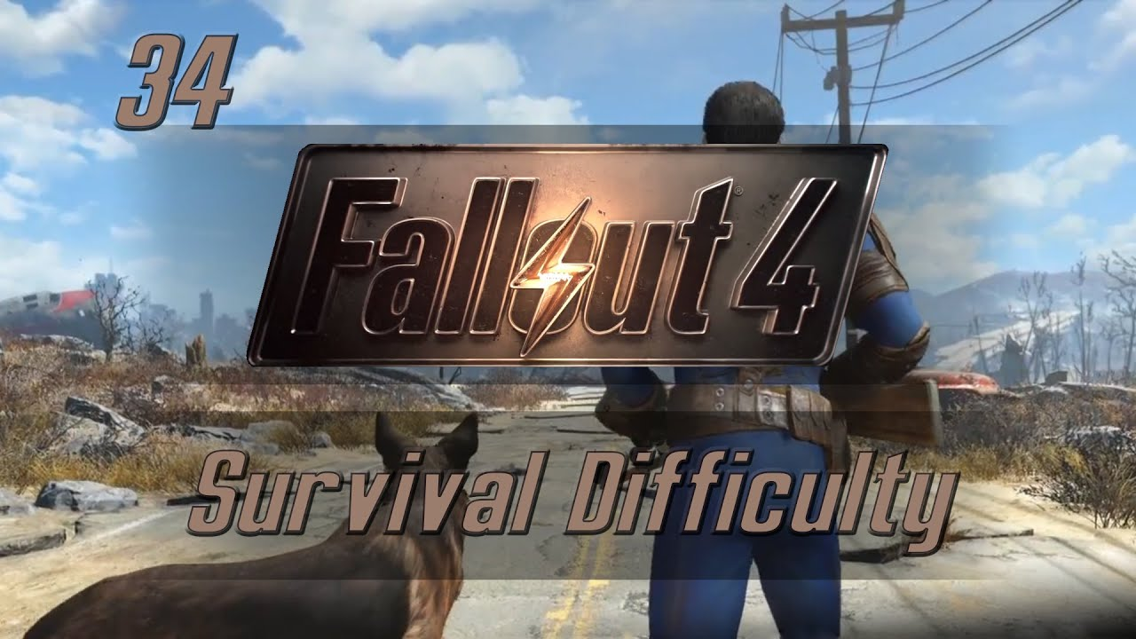 let s play fallout 4 survival difficulty ep 34 walden pond