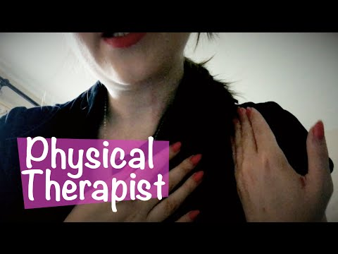 Physical Therapist Roleplay ASMR 💆🏻‍massage, medical consultation