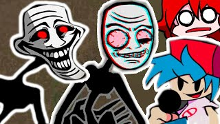 SCP ТРОЛЛФЕЙС FNF СУПЕР МОД - FR DAY N GHT FUNK N The Blueballs  Ncident Trollge - Trollface