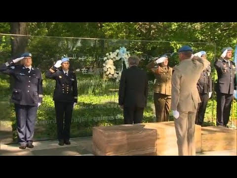Wreath-laying to Honour Fallen Peacekeepers – United Nations Peacekeepers 2019