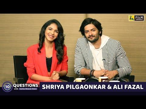 10 Questions with Ali Fazal & Shriya Pilgaonkar   Sneha Menon Desai   Mirzapur Mp3