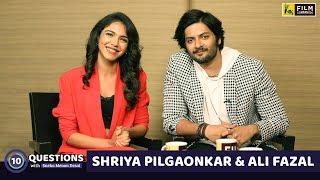10 Questions with Ali Fazal & Shriya Pilgaonkar | Sneha Menon Desai | Mirzapur