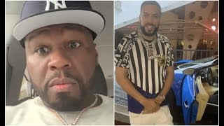 50 Cent Calls Out French Montana For Lying About New Bugatti