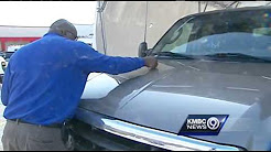 Hail damage claims keep insurance companies busy