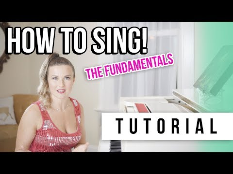 How to sing tutorial with Tara Simon