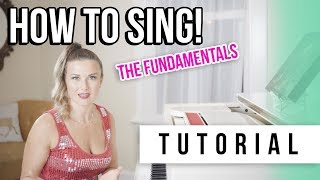 Cover images How to sing tutorial with Tara Simon