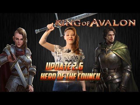 KoA - Update 2.6 Hero Council by Lady of Avalon