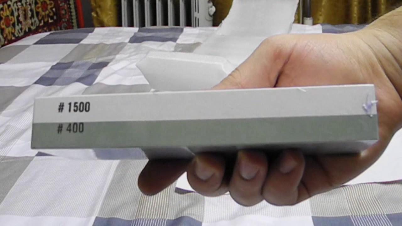 Дешевые точильные камни unboxing, как альтернатива наждачной .