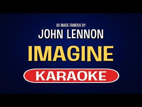 Imagine (Karaoke Version) - John Lennon   TracksPlanet