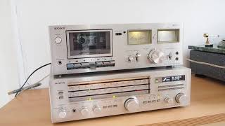 Sony STR 434L +Sony TC-K15 Tape Deck