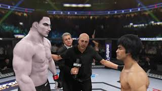 God Ares vs. Bruce Lee (EA sports UFC 3)