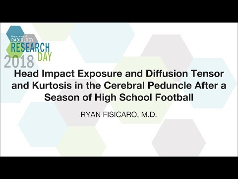 Head Impact Exposure and Diffusion Tensor and Kurtosis in the Cerebral Peduncle