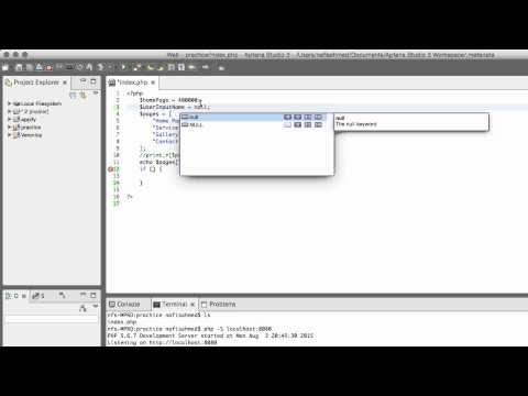PHP5, HTML & CSS Web Project | Null Value & Boolean Values In IF Conditional | Part-11