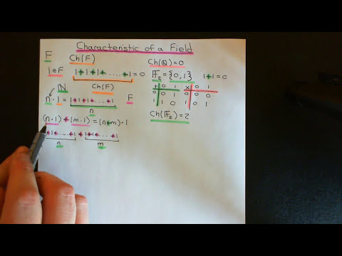 The Characteristic of a Field