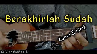 Download Mp3 Atmosfera - Berakhirlah Sudah  Kunci&lirik  Cover Ukulele By Feri Yt Officia