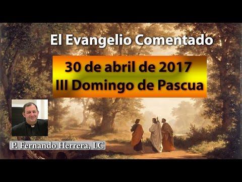 III Domingo de Pascua (30 de abril de 2017)