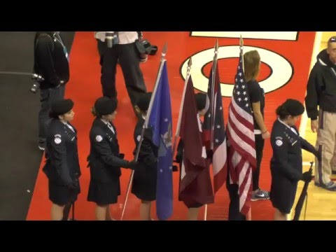 Boy's High School Tournament Basketball - Lima Senior vs Wilmington 03-18-2016