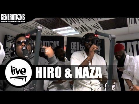 Hiro & Naza - Gigolo / Laissez-Les (Live des studios de Generations)