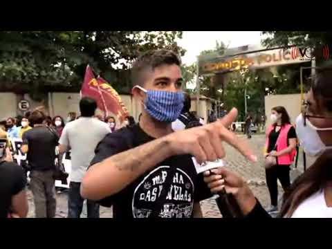 Brazil Protests Against Police Brutality and Genocide - Jacarezinho / Rio de Janeiro - 2021