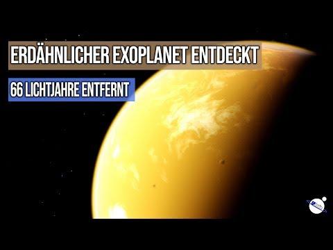 Erdähnlicher Exoplanet entdeckt - 66 Lichtjahre entfernt - GJ 1252b