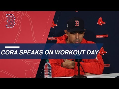 WS2018 Gm1: Cora on Betts at 2B, Kimbrel's role