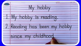 10 lines Essay on My Hobby in English Writing-Learn Essay Speech