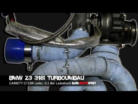 Bmw Z3 318i M43 Motor Turbo Umbau Youtube