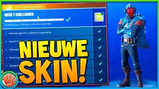 *NIEUWE* SKIN!! 'THE VISITOR' EERSTE GAMEPLAY!!! - Fortnite: Battle Royale