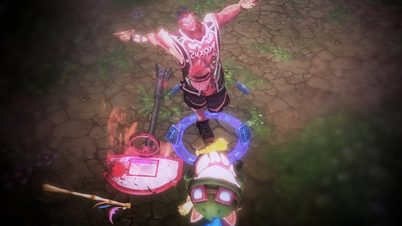 LMHT : Kinh dị Đầu Teemo làm vũ khí cho Darius