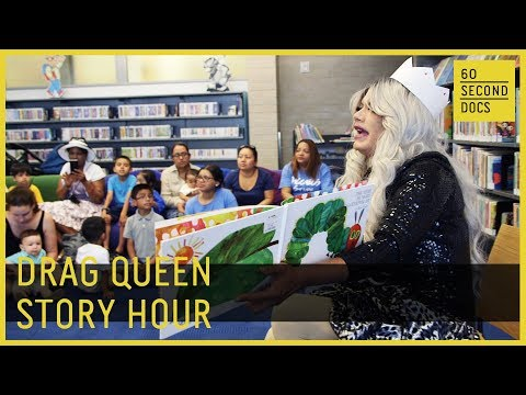 Drag Queen Story Hour   New York Public Library // 60 Second Docs