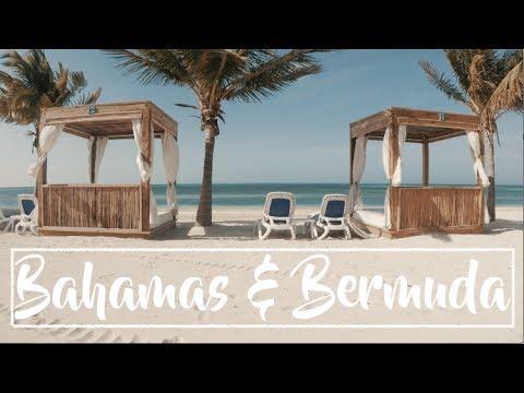 EXPLORING BAHAMAS & BERMUDA   GO PRO 2017