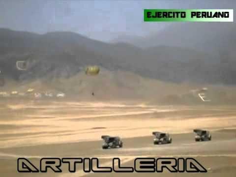 EJERCITO PERUANO Poderosa artilleria - YouTube
