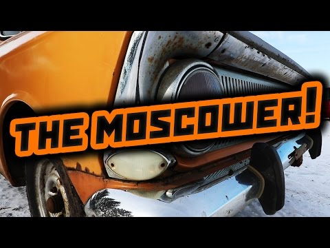 Moskvich 412 (Москвич) - Soviet Car Review
