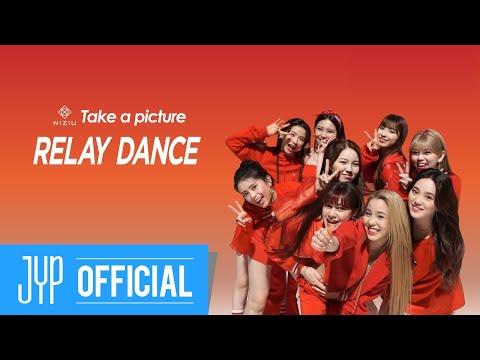 NiziU 2nd Single『Take a picture』 relay dance