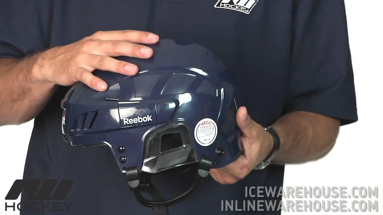 dd84a7df527 Reebok 5K Hockey Helmet - YouTube