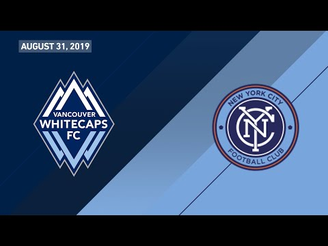 Highlights | Vancouver Whitecaps FC vs. NYCFC | August 31, 2019