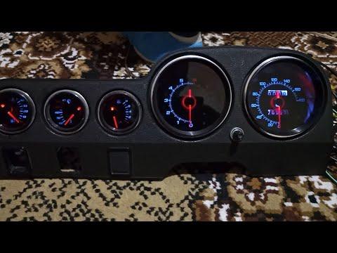 Тюнинг панели приборов ВАЗ 2106 спящая панель