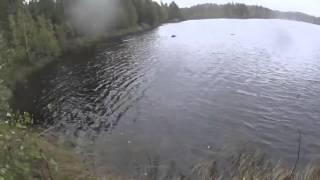 Щука помогла утопить лодку