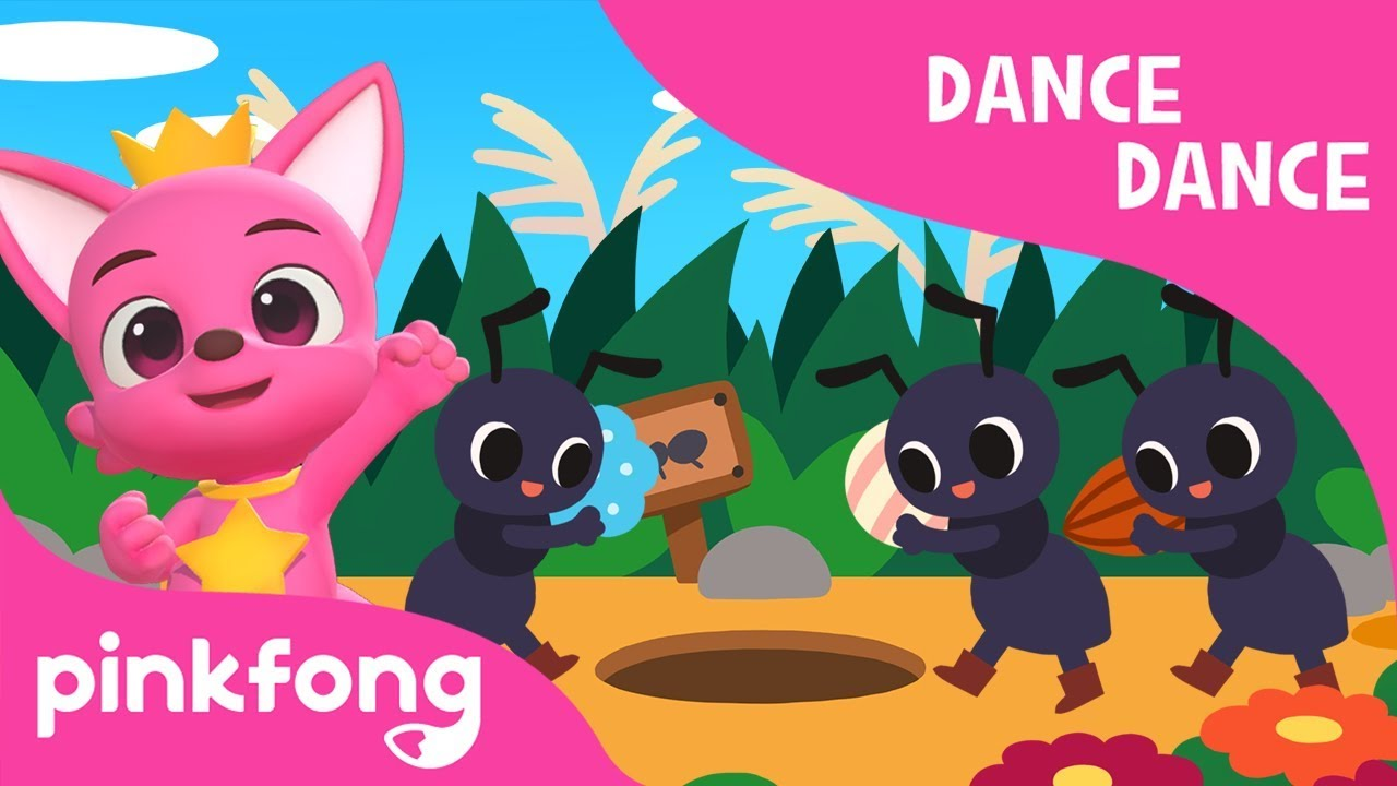 The Ants Go Marching | Nursery Rhyme | Dance Dance | Pinkfong Songs for Children