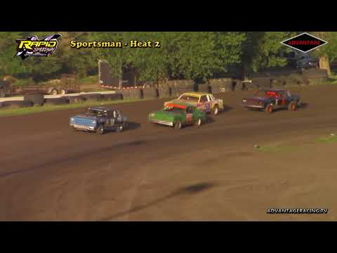 Sportsman Heat/Feature - Rapid Speedway - 5/25/18