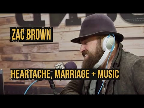 Zac Brown Talks Heartache + His Wife's Special Talent