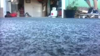 I learned kickflips