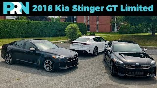 2018 Kia Stinger GT Limited   TestDrive Spotlight