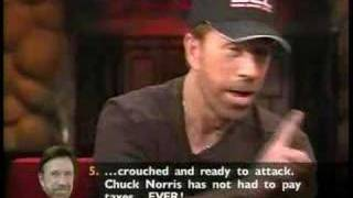 Chuck Norris Top 10 Facts